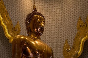solid gold buddha in bangkok