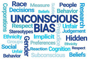 Unconscious Bias Word Cloud