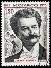 Johann Strauss Stamp