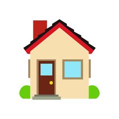 Home house emoji vector