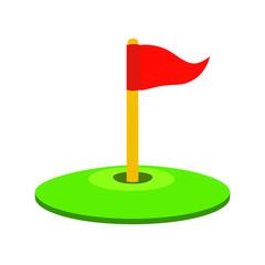 golf emoji vector