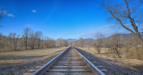 """""""The Cold Steel Rails"""" ZDS Americana Landscapes Collection"""