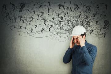 engineer mess in head