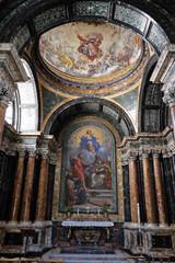 The Cybo Chapel in Church of Santa Maria del Popolo, Rome, Italy