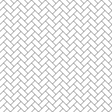 Subway Tile Seamless Pattern - Herringbone subway tile pattern design