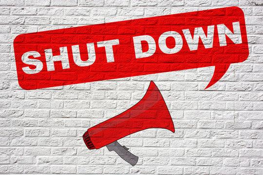 Shut Down! Graffiti