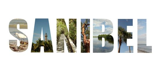 Sanibel Island Florida collage