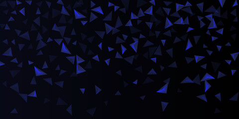 Triangular background. Abstract composition of 3d triangles.