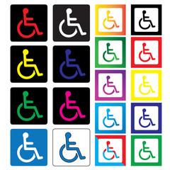 Icon-Handicap Icon Collection