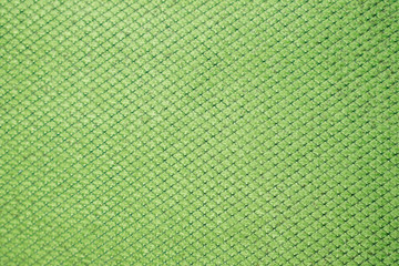 green fabric textured  background