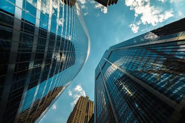 Urban Skyscrapers Fotobehang