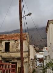 Alte Häuser auf Kreta