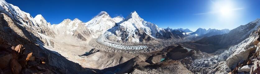 mount Everest Lhotse Nuptse Nepal Himalayas mountains