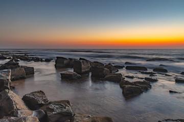 Rocky Dawn Coast