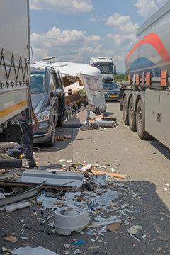 Semi Trucks Traffic Accident