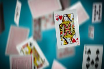 Alice in Wonderland- Hearts card
