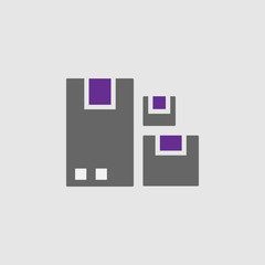 Boxes, crates icon. Element of Delivery and Logistics icon for mobile concept and web apps. Detailed Boxes, crates icon can be used for web and mobile