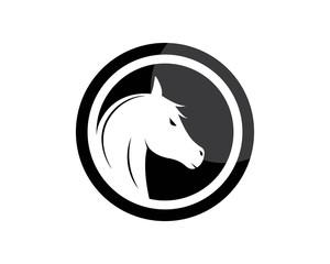 Horse Logo Template Vector illustration