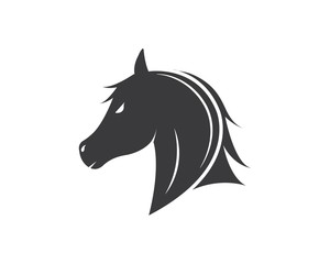 Horse Logo Template Vector illustration