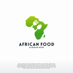 African Food logo template