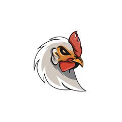vector illustration of an chicken/ esport logo