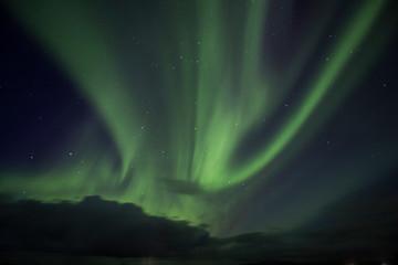 aurora borealis in iceland