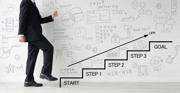ビジネスイメージ―ステップアップ