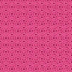 Nahtloses pink geometrisches Muster