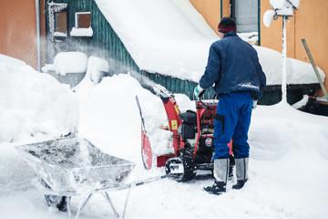Winterdienst Hausmeister