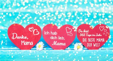 Muttertag Karte Hintergrund