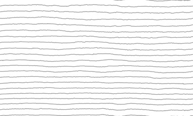 Vector Illustration of the seamless pattern of the hand drawing gray lines on white background. EPS10.