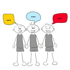 Figuren kommunizieren