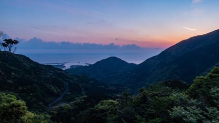 UNESCO World Heritage Yakushima  鹿児島県屋久島の朝焼け