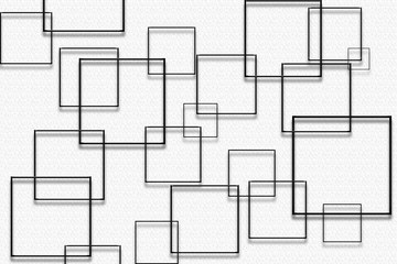 Grey Background with Squares - Light and Shadow Vivid Wallpaper, Shapes