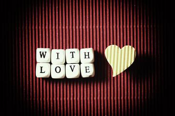 valentine day paper background