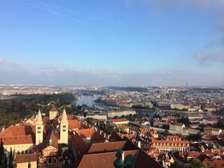 チェコの街並み