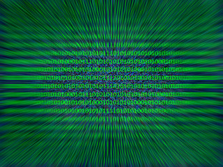 binary numbers as background