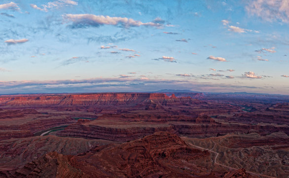 Dead horse point USA Arizona Utah panorama