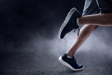 Man running outdoor
