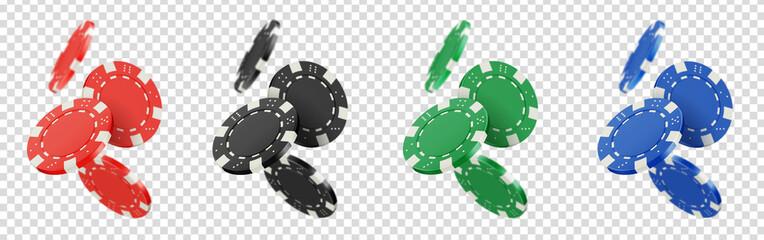 Jetons de poker vectoriels 8