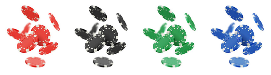 Jetons de poker vectoriels 9