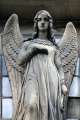 Guardian angel, Madeleine church in Paris