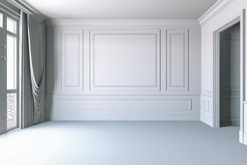 3d render of beautiful interior render