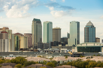 Downtown Tampa, Florida.