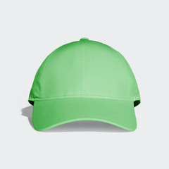 Lime Green Baseball Cap Mock up