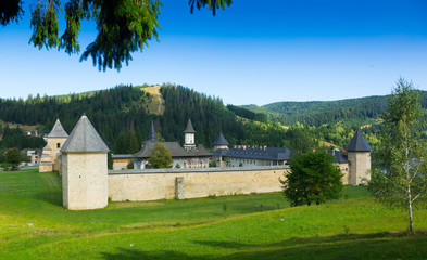 Sucevita Monastery on Bucovina