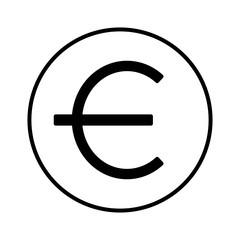 euro money symbol