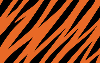 stripe animals jungle tiger fur texture pattern seamless repeating orange yellow black