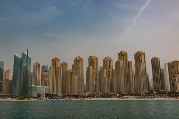 Dubai is a city and emirate in the United Arab Emirates known for luxury shopping