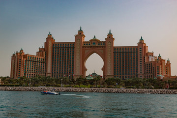 Fotobehang Dubai Dubai is a city and emirate in the United Arab Emirates known for luxury shopping